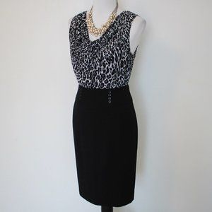 WHITE HOUSE BLACK MARKET Size 6 Skirt Blouse Set